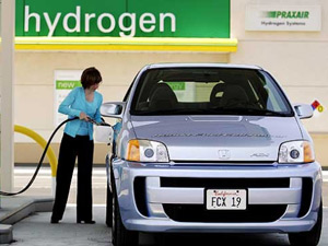 Заправка автомобиля водородом