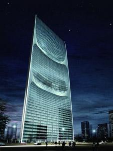 Проект башни Pearl River Tower в Гуанчжоу