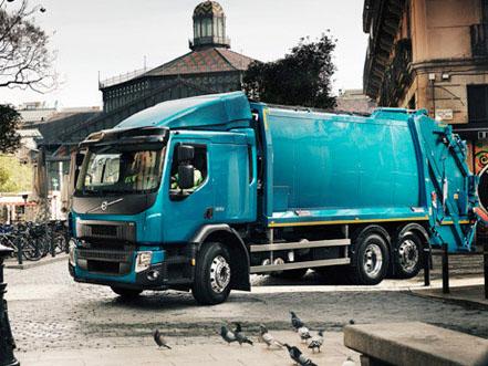 Volvo FE CNG — новый грузовик на метане для Европы