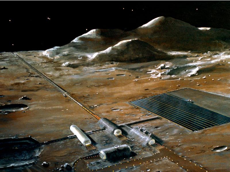 Лунные электростанции: перспективы